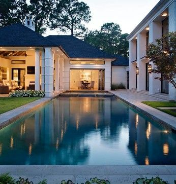 house landscape nice houses landscape architects residential pool ideas huts swimming pools louisiana
