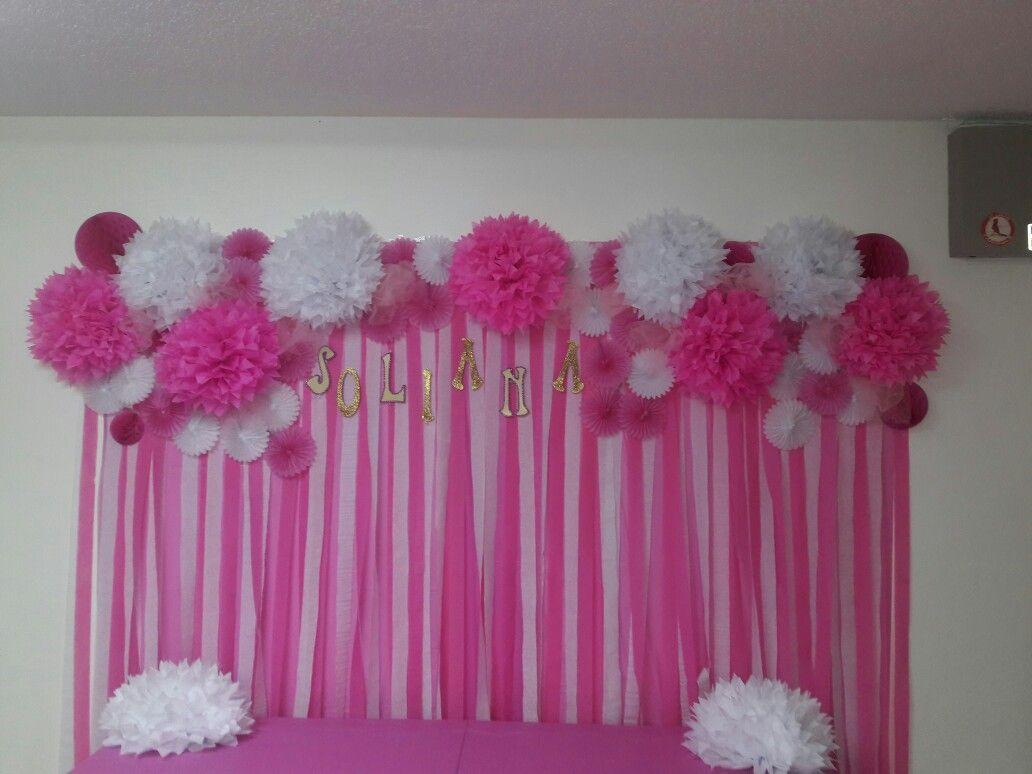 Birthday Wall decoration Birthday wall decoration