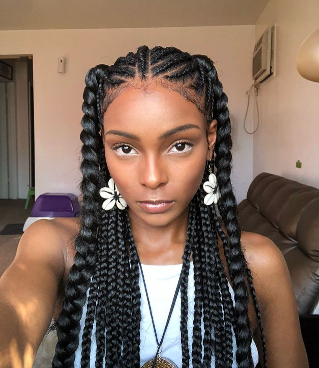Nara African Hair Braiding Narahairbraiding On Instagram Africanside African Braids Hairstyles Natural Hair Styles Hair Styles