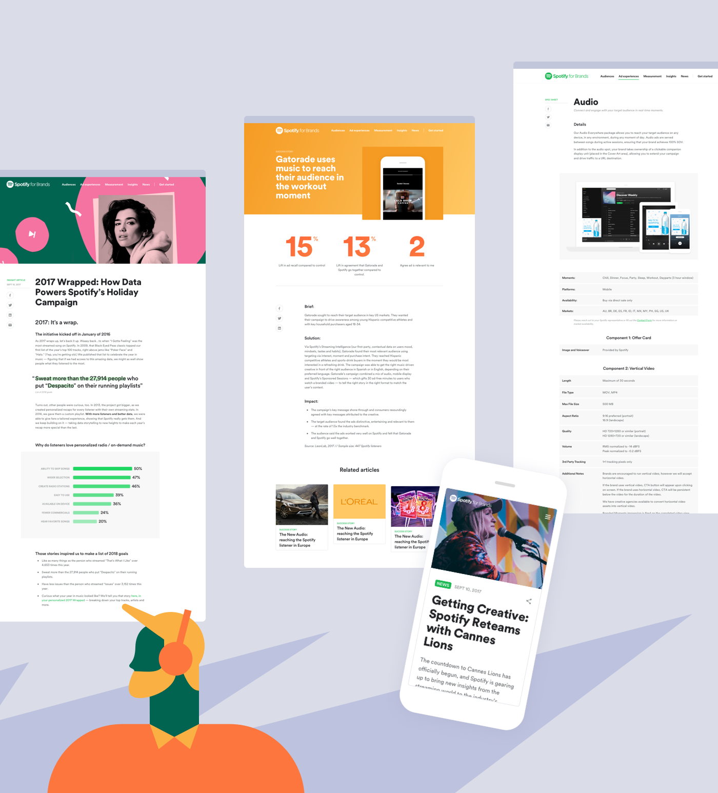 Spotify for Brands on Behance