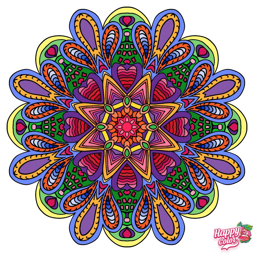 Happy Coloring App for iOS & Android HappyColoringApp