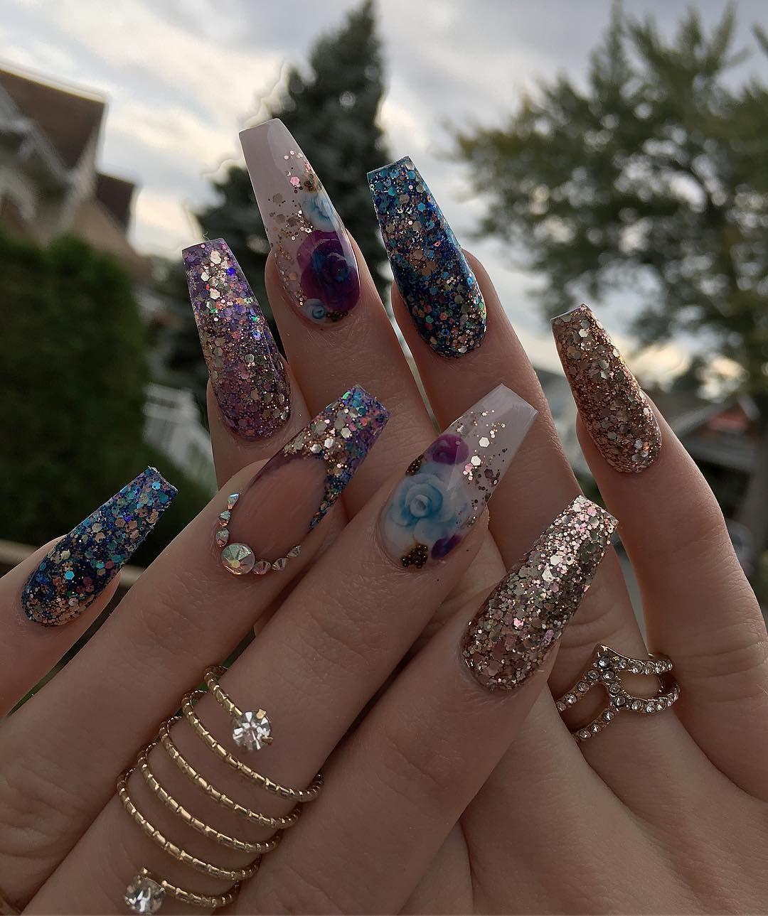 Unas de mis Favoritas | Nägel | Pinterest | Nail nail, Make up and ...