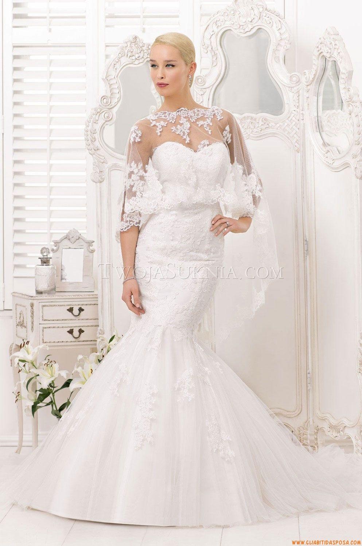 c60920c9cfa2 Vestito Bianco. Fidanzamento · Pizzi · Abiti da Sposa Divina Sposa DS 132-28  2013 Abiti Da Sposa Da Sogno