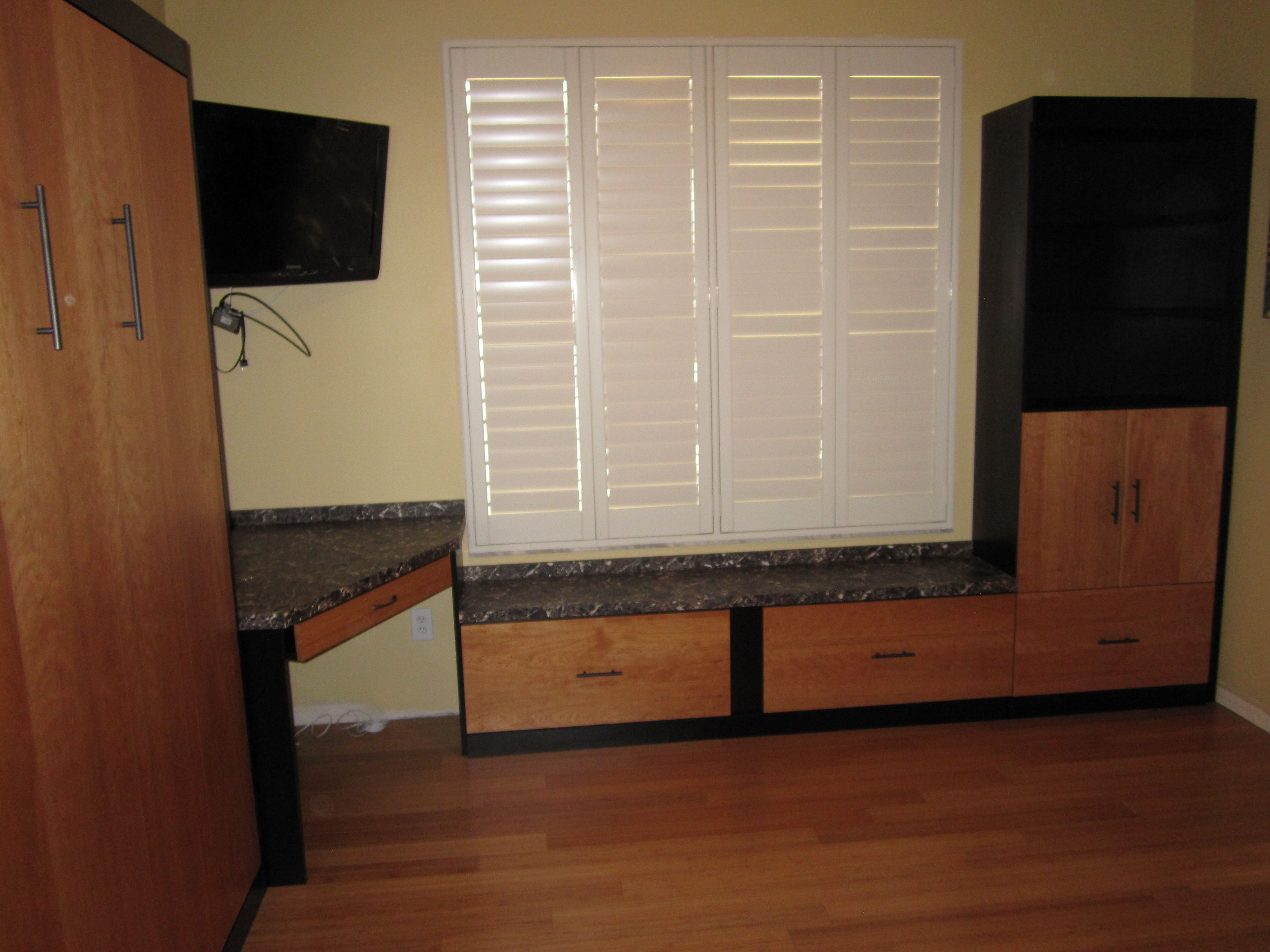 home office murphy bed. Murphy Bed Wall Home Office Custom Garage Furniture Man Cave Workshop Cabinet Cabinetry E