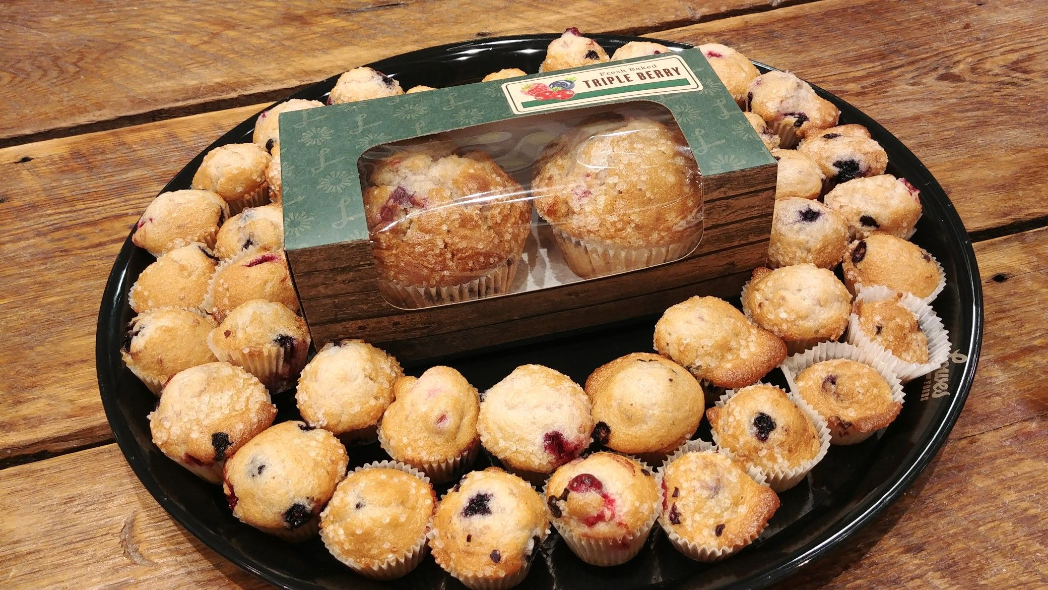 Who knew you can make mini muffins just like our large