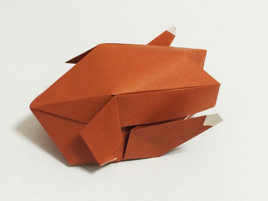 T21 Model 40 57 Turkey By Ryan Macdonell By Mr Origami Origami Food Crafty