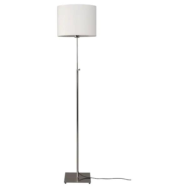 Alang Lampadaire Nickele Blanc Ikea Lampe Lampadaire Lampe Ikea