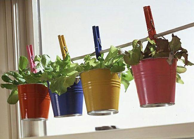 mini jardini res et pots d int rieur aux herbes aromatiques jardins d corations de cuisine et. Black Bedroom Furniture Sets. Home Design Ideas
