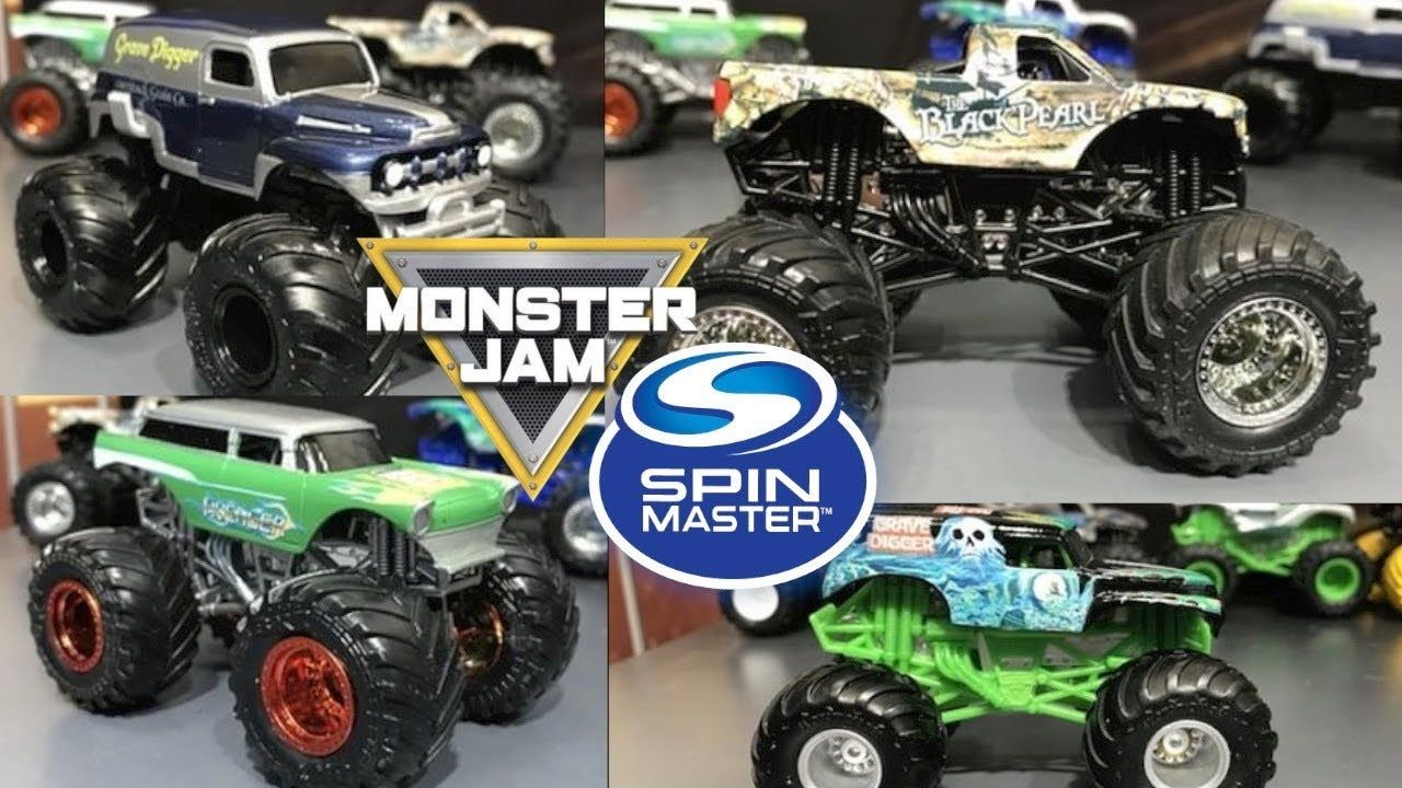 new spin master monster jam prototypes