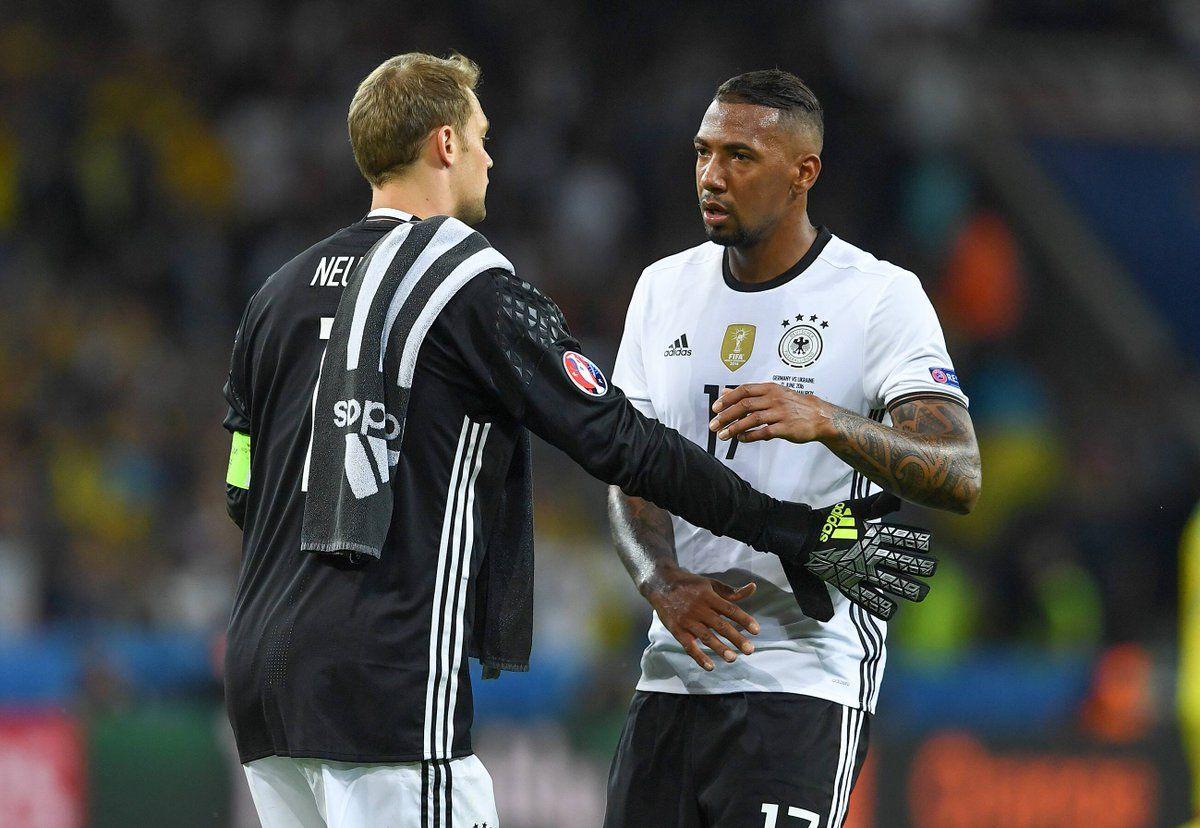 Neuer & Boateng