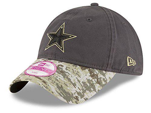 brand new a1847 0f33b New Era 9Twenty Womens Hat NFL 2016 Dallas Cowboys Salute to ...