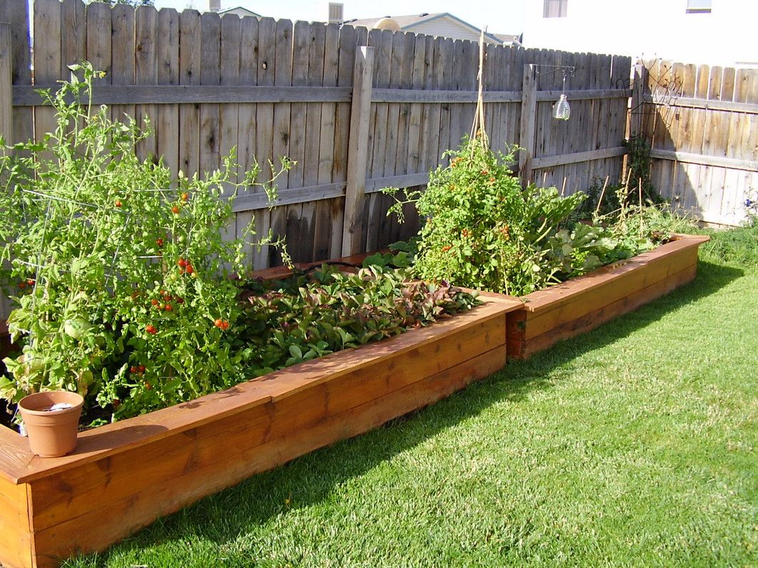 Big Garden Planters Garden Planter Box Ideas How To Make Wooden Planter
