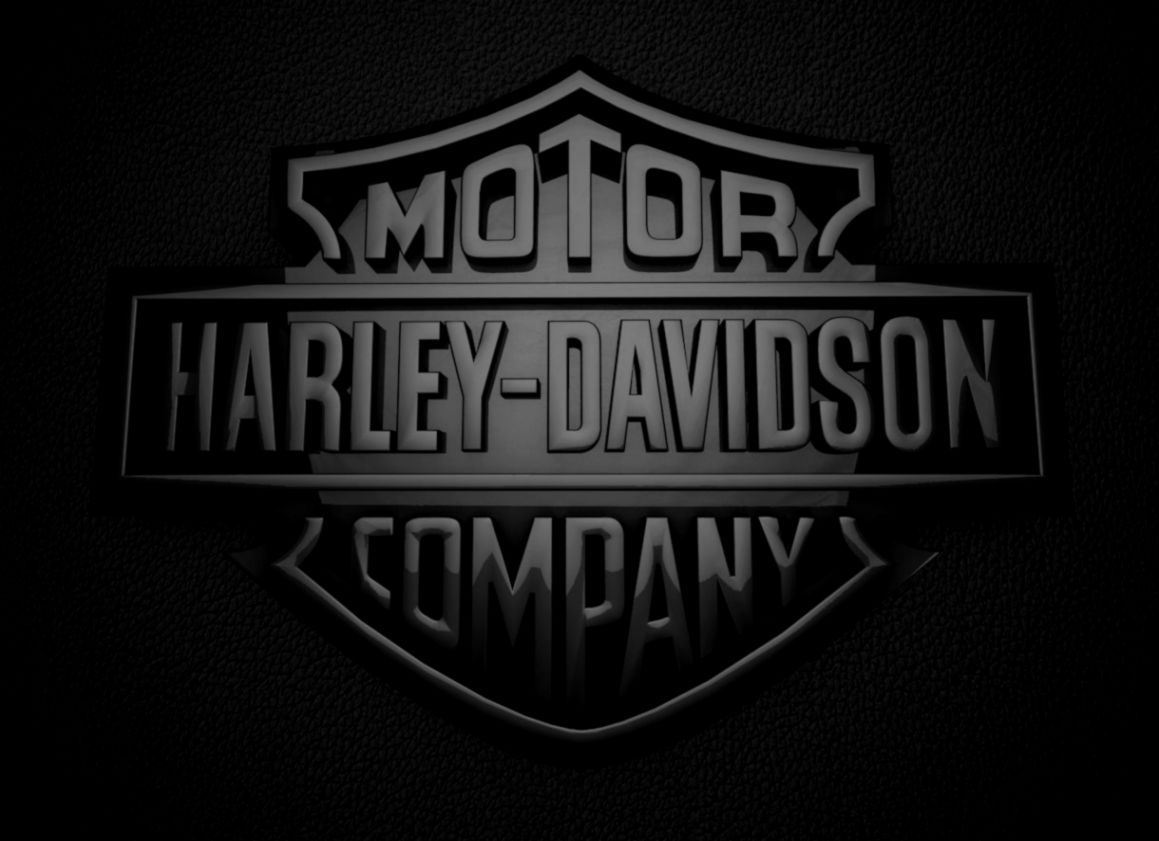 Harley Davidson Logo Desktop Background Wallpaper Hd Preto E Branco Fotos Carros