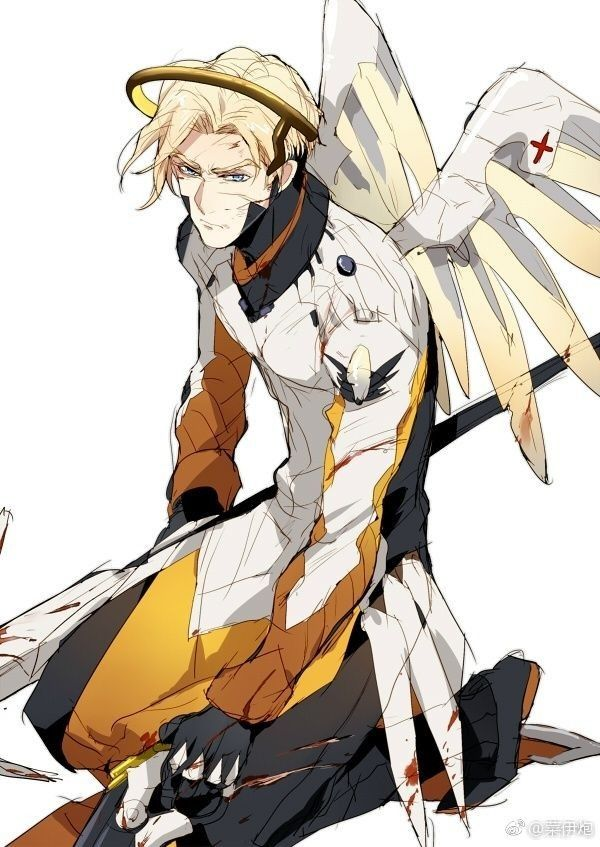 Cant Handle The Gay Ships Then Sees Male Mercy This Is The Good
