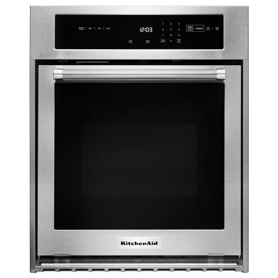 Kitchenaid selfcleaning convection single electric wall oven