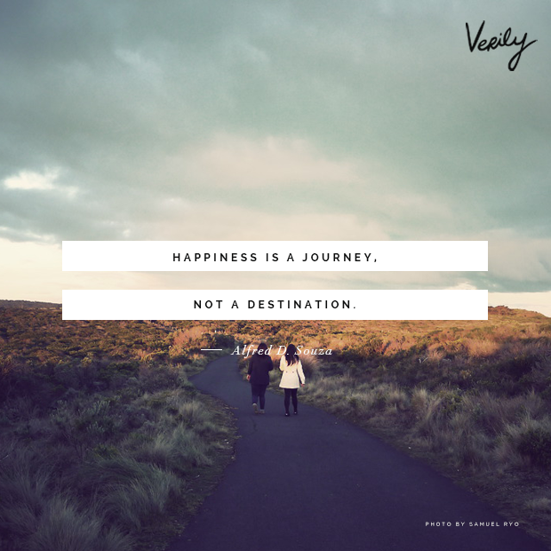 happiness is a journey not a destination dailydose quotes rh pinterest com