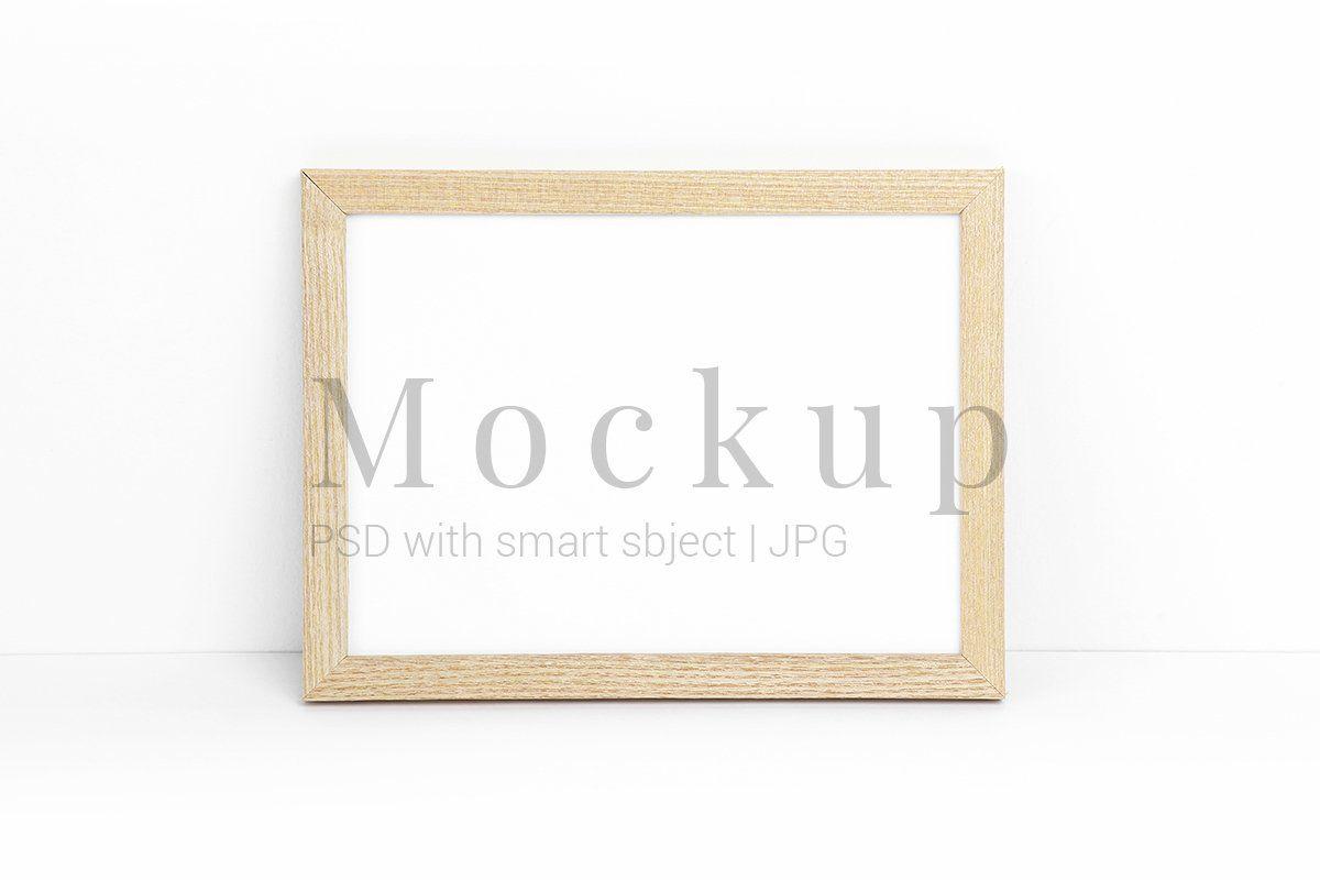 Frame Mockup Minimalist Mockup Psd Mockup 542354 Exhibition Design Bundles Frame Mockups Mockup Psd Frame