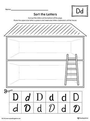 Uppercase Letter D Styles Worksheet Meril Pinterest Worksheets
