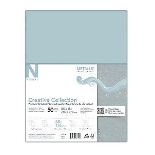 Neenah Metallics Fsc Certified Paper 8 1 2 X 11 Chalice