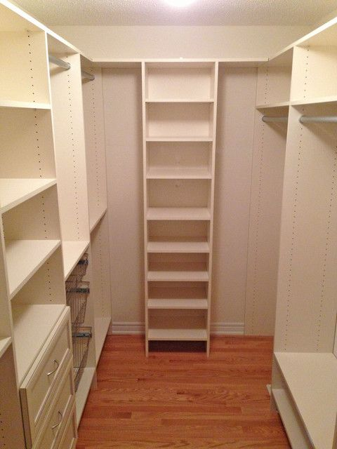 Traditional Closet HovGallery Project Organization