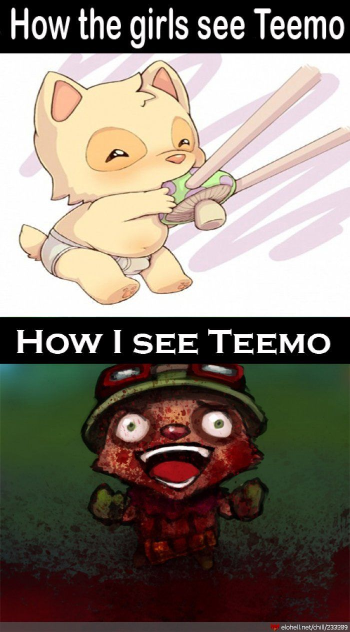 How people view teemo | League of Legends | Pinterest ...