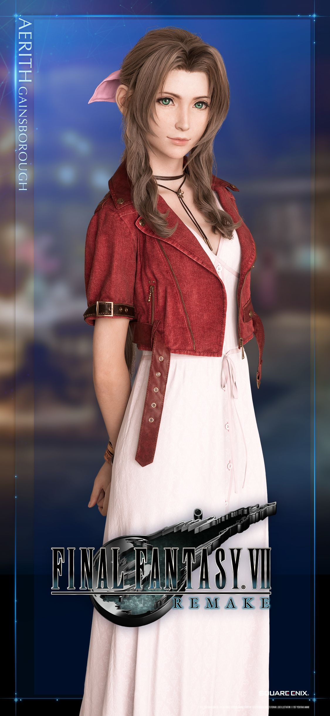 Aerith Aeris Gainsborough Final Fantasy Vii Remake Mobile Wallpaper 1125x2436 Final Fantasy Tifa Final Fantasy Final Fantasy Advent Children