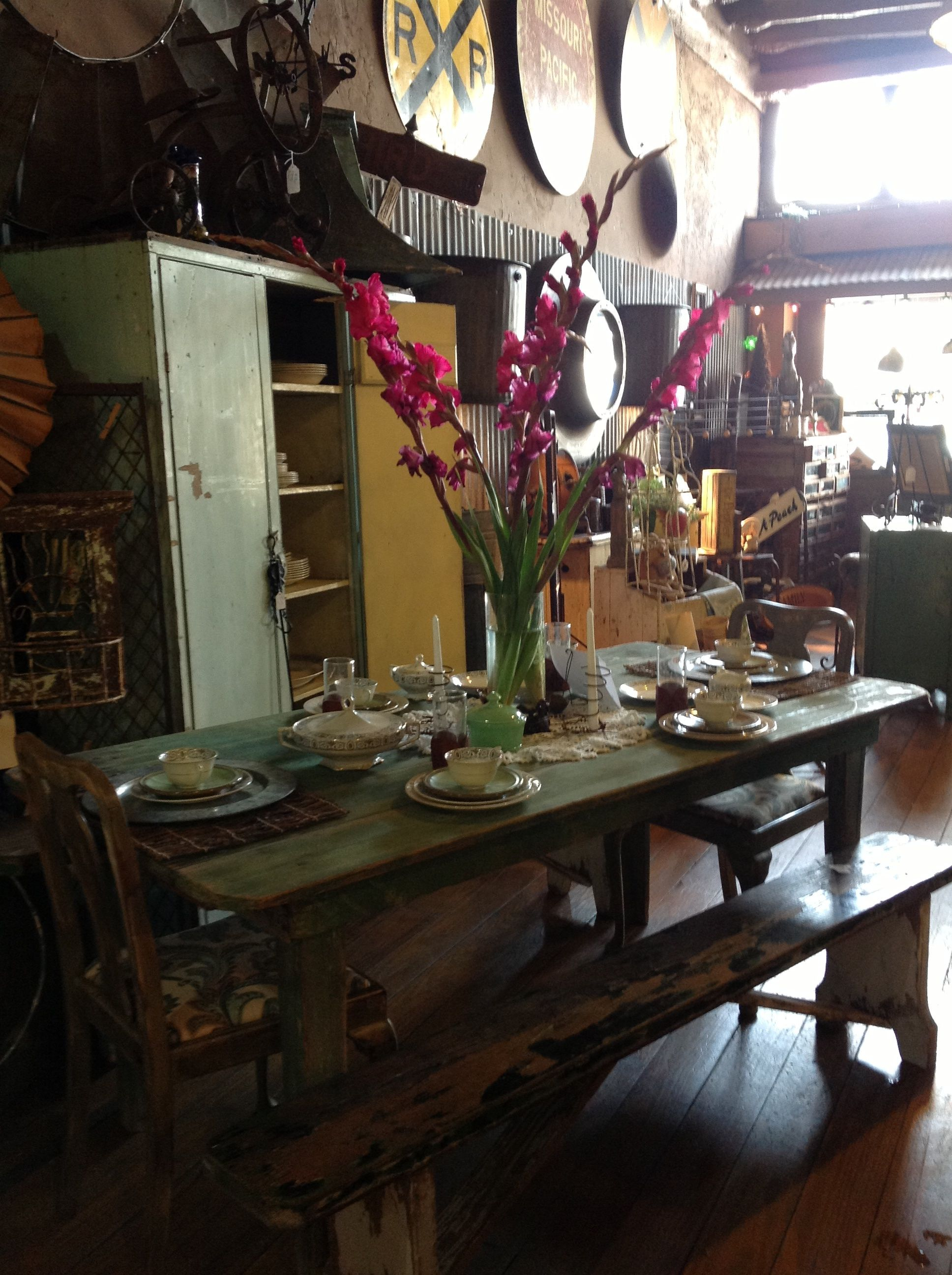 High Quality Hammer N Heels Antiques Weatherford, Tx Farm Table