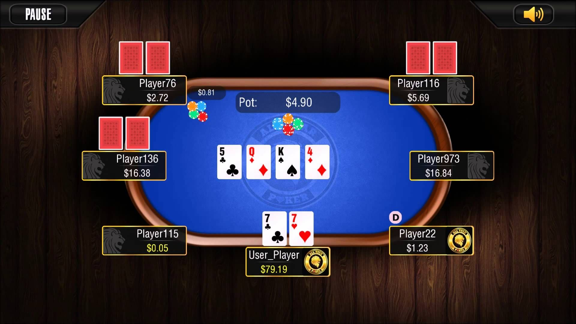 Painful Fold Cash Game (All Star Poker App) www
