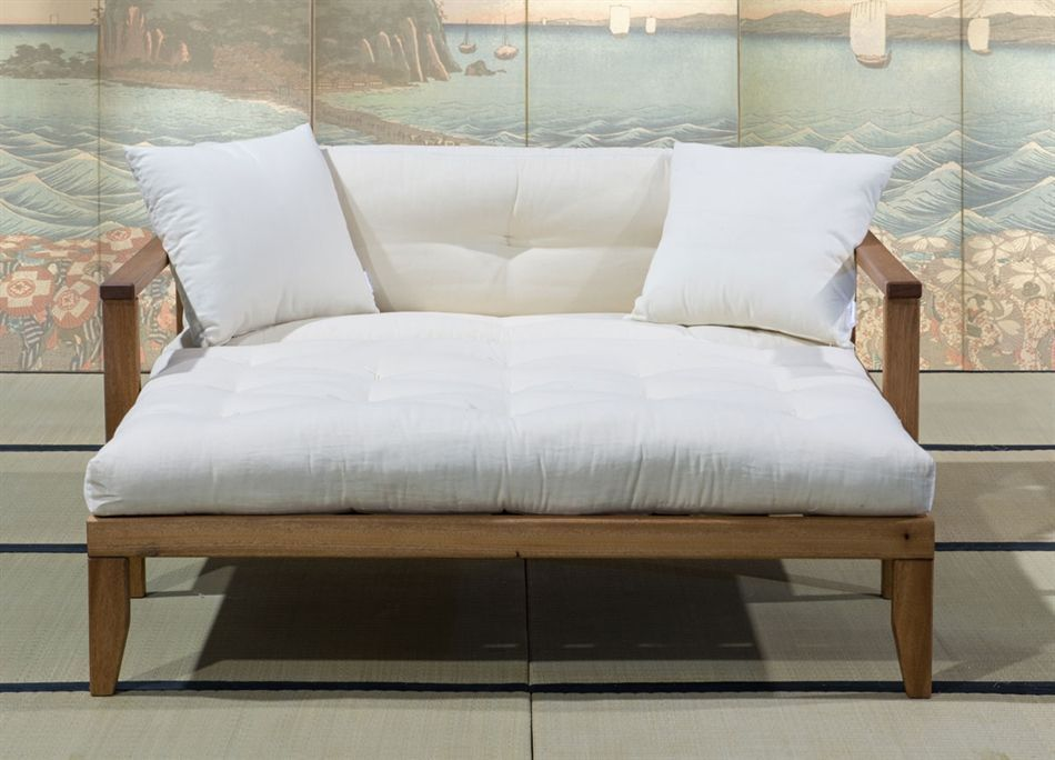 Divano letto futon edera vivere zen futonmattressdaybeds