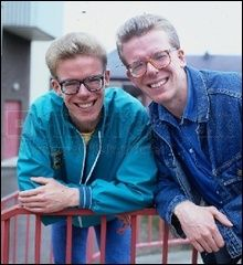 The Proclaimers the 1980's! Just saw them again tonight probably 30 years after the first time!
