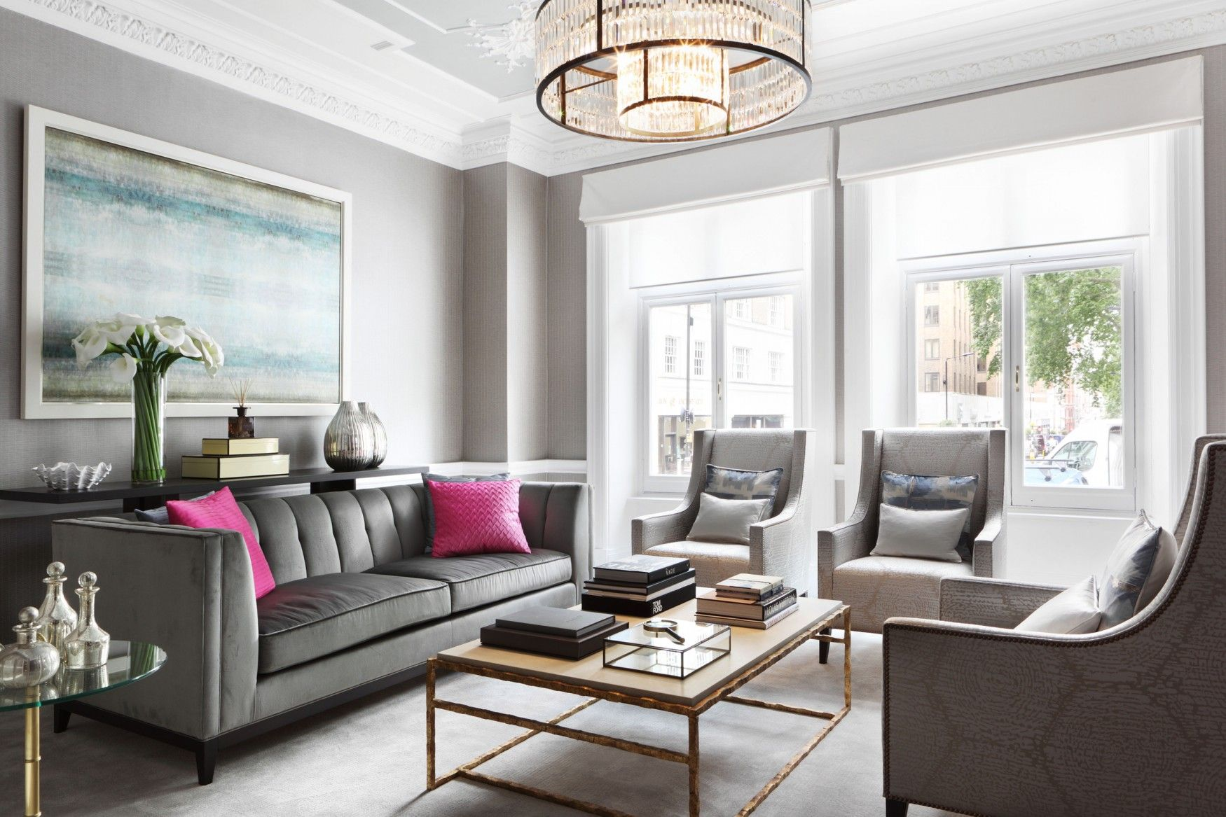 Berkeley Interior Design berkeley square | taylor howes | living room | pinterest
