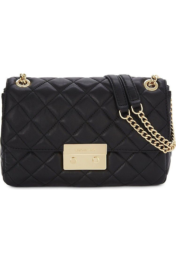 90f2f1653abd MICHAEL MICHAEL KORS - Sloan large quilted leather shoulder bag ...