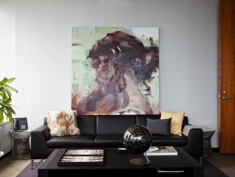 Wohnzimmermobelfarben Fur Den Innenraum Neu Haus Designs Moderne Couch Wohnzimmer Schwarz Weiss Minimalistische Wohnzimmer