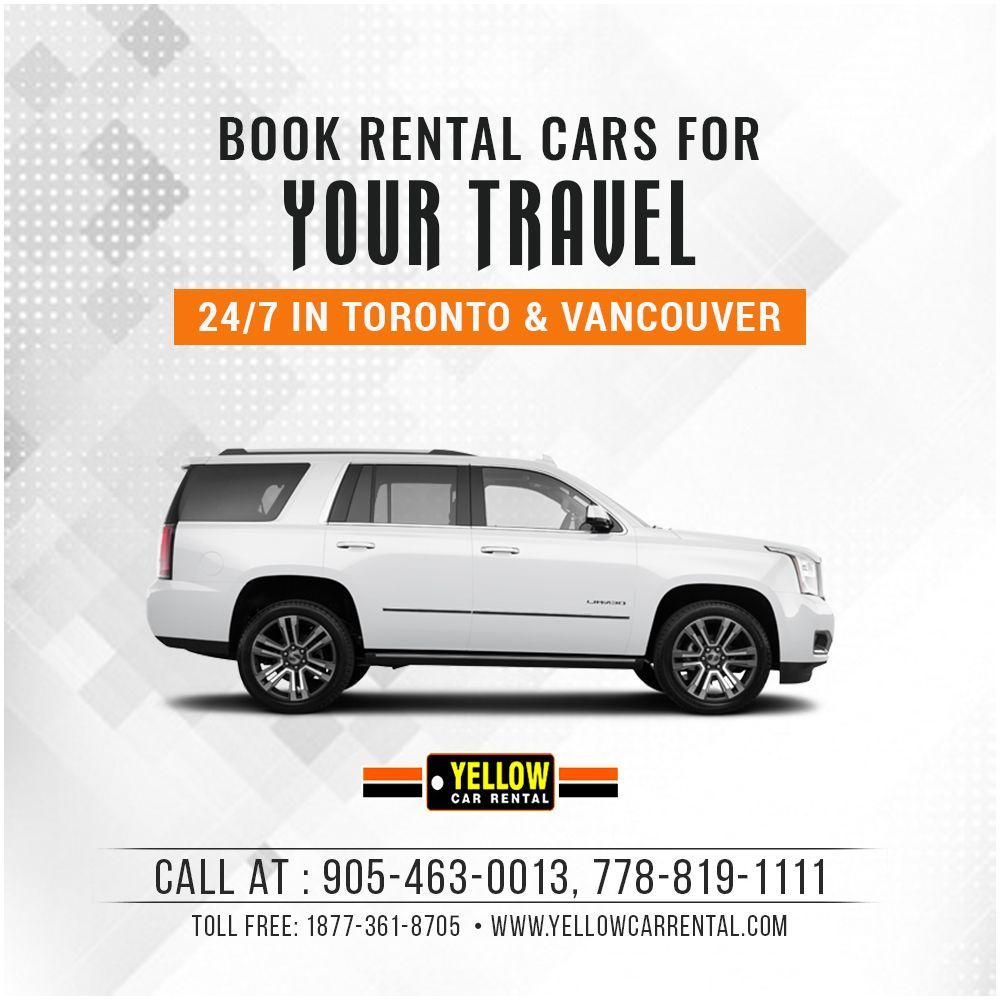 Are you looking to rent a car in Toronto/Vancouver