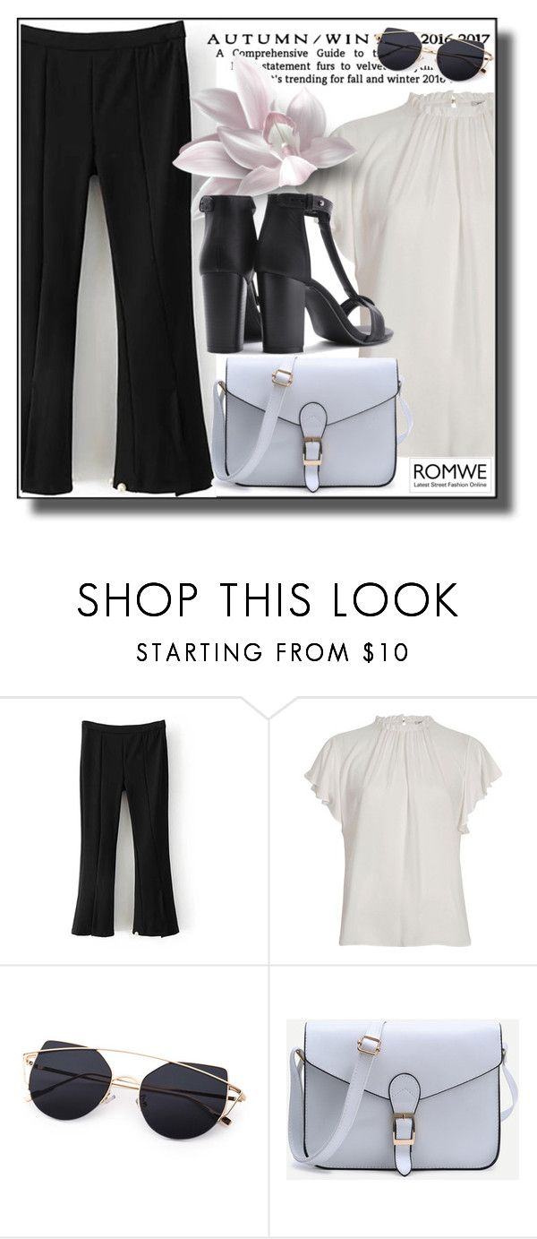 """Romwe8"" by adelisa56 ❤ liked on Polyvore featuring River Island and romwe"