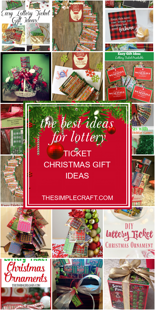 Lottery Ticket Christmas Gift Ideas Elegant How To Creatively Gift Nj Lottery Holiday In 2020 Lottery Ticket Christmas Gift Lottery Ticket Gift Holiday Christmas Gifts