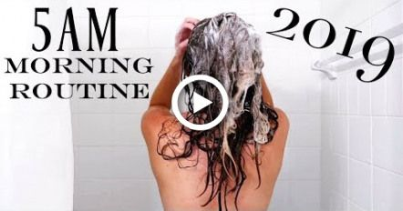2019 5AM Optimal Morning Routine | NEW YEAR NEW ME | Productive & Healthy #fitness