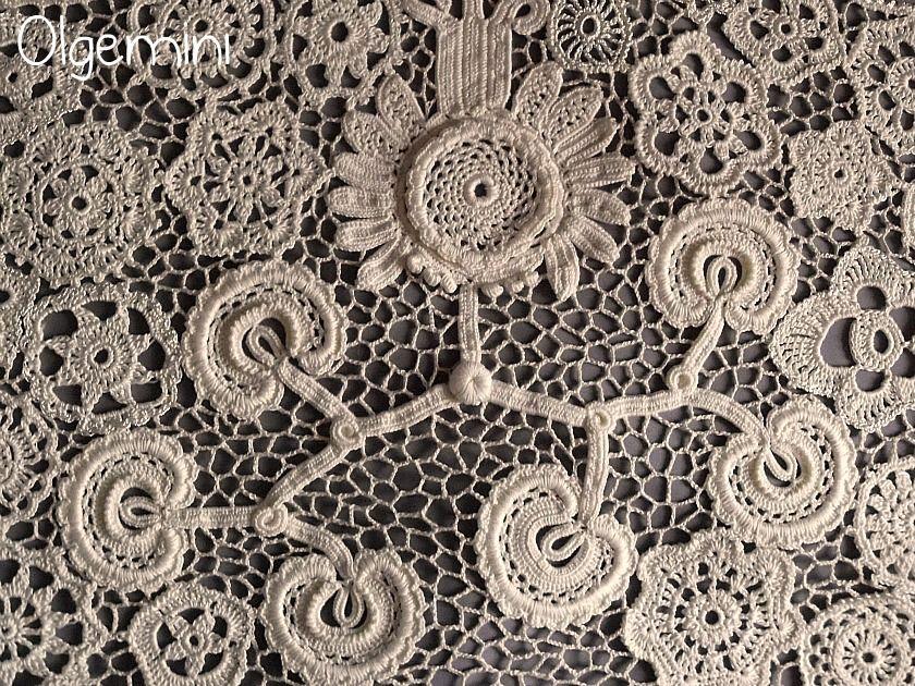 Pin von AlisaSonya auf Irish crochet   Pinterest