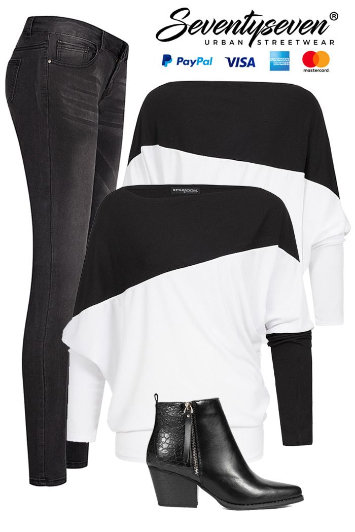 Angesagter Schwarz-Weiß-Look 97,96 €!