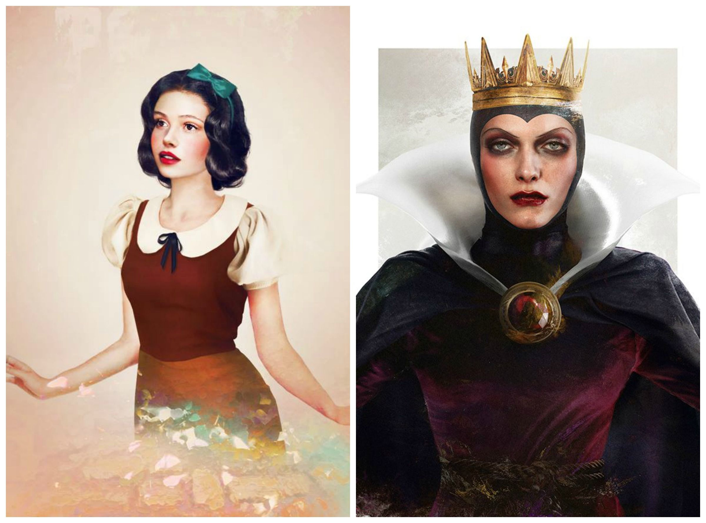 Snow White And The Evil Queen As Real Life Characters By Jirka Vaatainen Design Evil Queen Fantasy World Fairy Tales