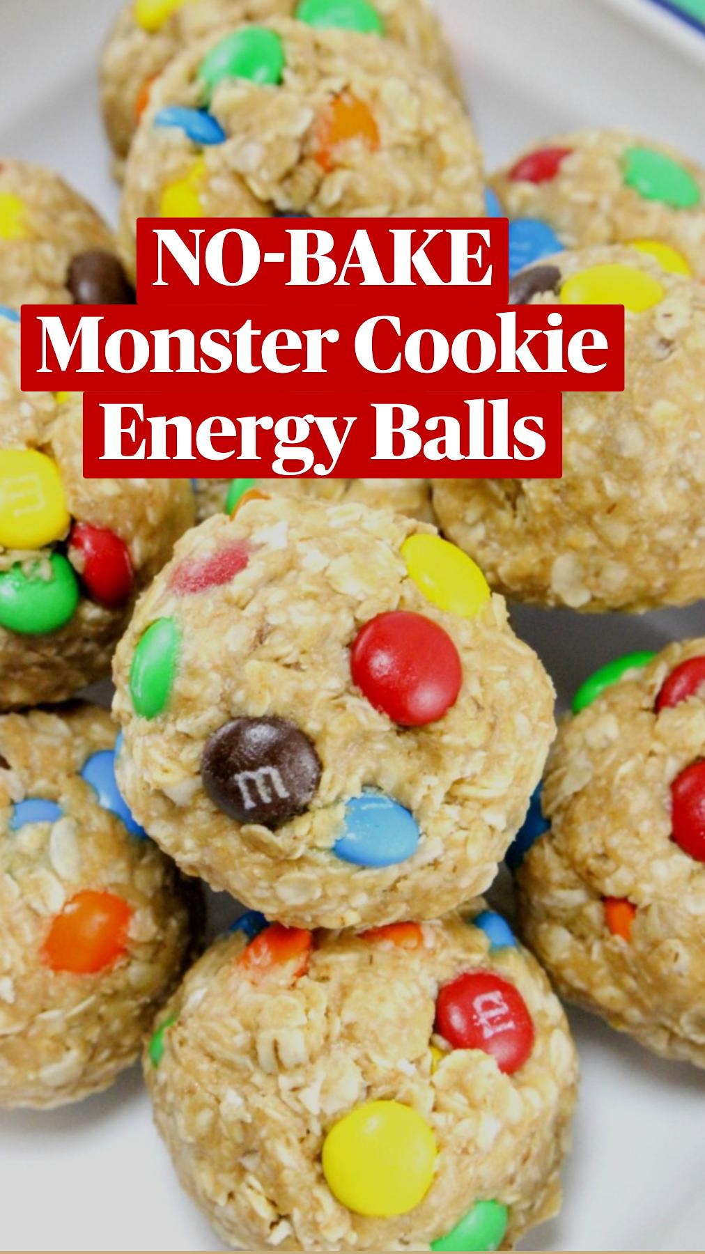 No-Bake Monster CookieEnergy Balls