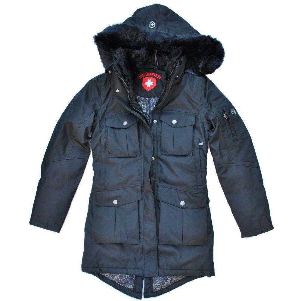 Wellensteyn Lola   Outfits   Schwarze winterjacke