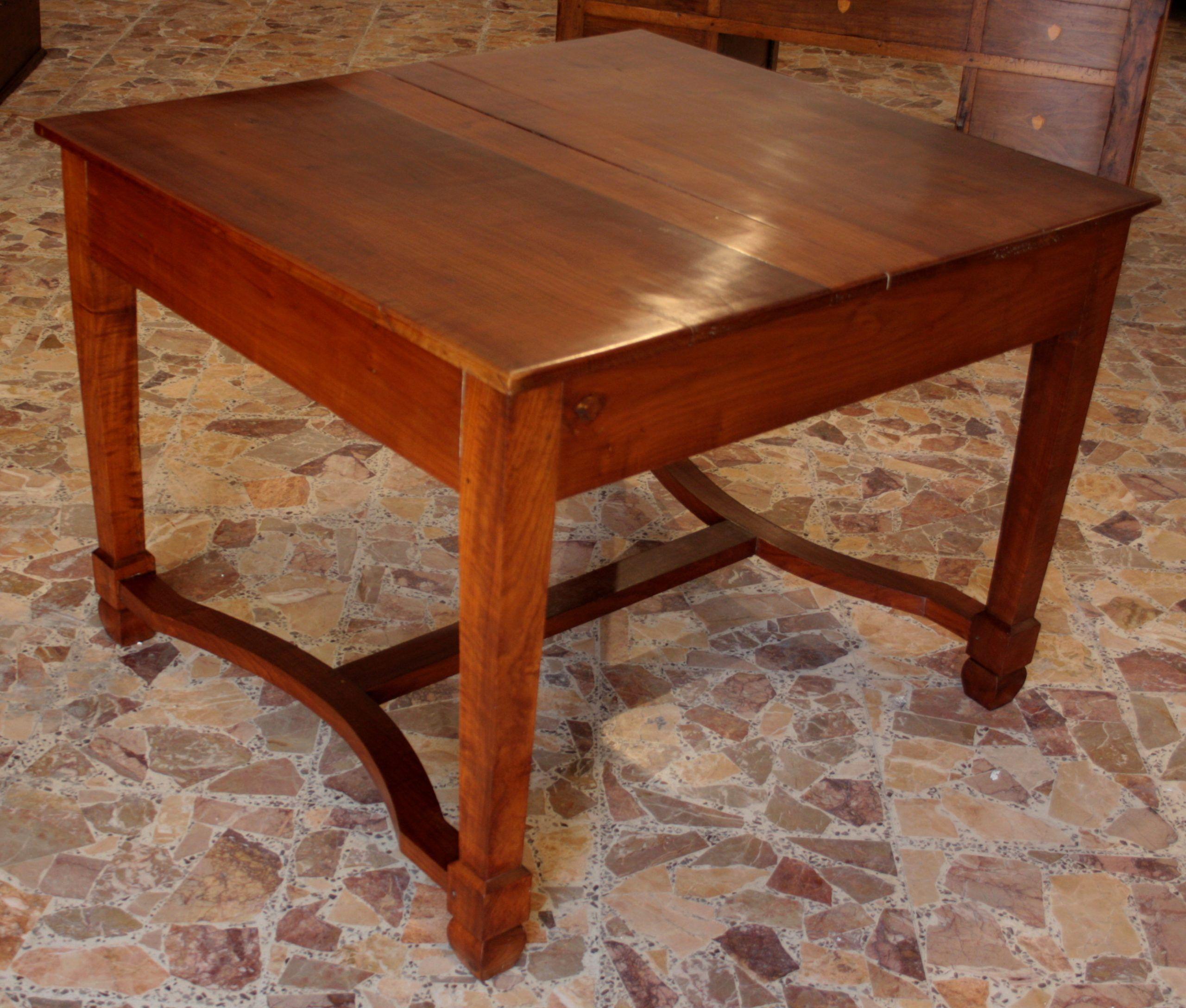Tavolo Allungabile A Spicchi.Antico Solido Tavolo In Ciliegio Massello Allungabile 1920 Sud