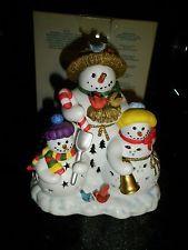 PartyLite Snowbell Tealight Holder P7702 - BOX