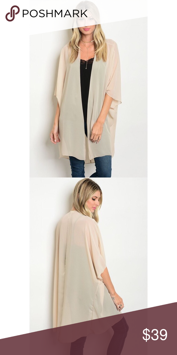 New sheer nude sand colored cardigan Boutique | Nude cardigans ...