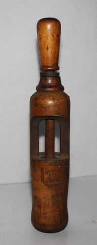 French Vintage Brown bottles  Vintage bottle  Art Glass  Sommer 1885