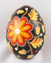 This is the pysanka I wrote for all my nieces this year