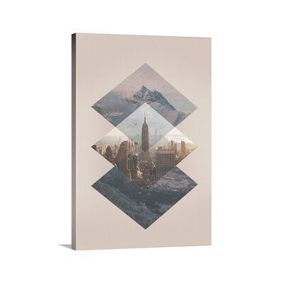 Great Big Canvas 'Wilderness Graphic Art Print Format: Canvas, Size: 15