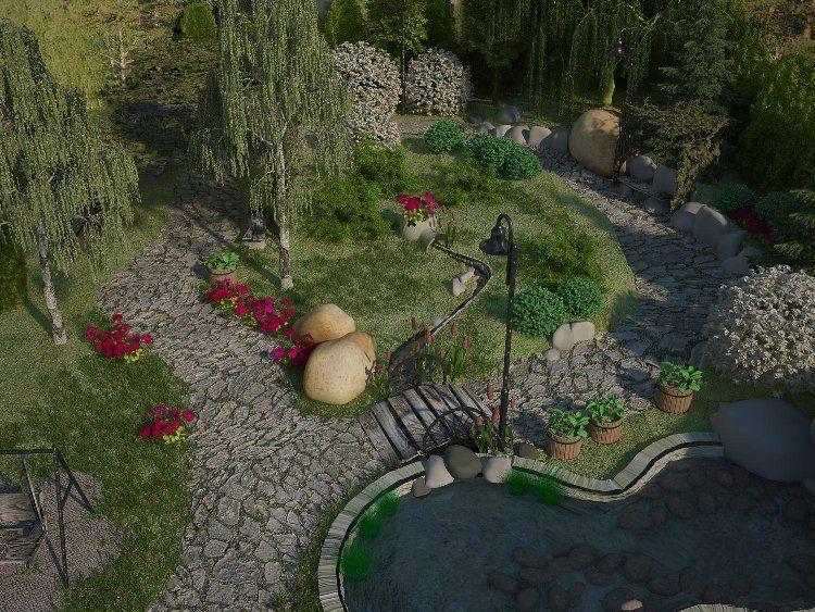 Logiciel gratuit plan jardin 3D pour PC, tablette et smartphone - logiciel d gratuit maison