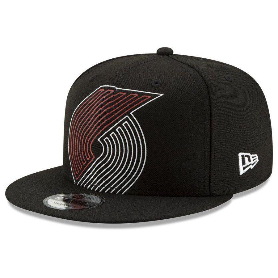super popular e760b 6111d Portland Trail Blazers New Era Light It Up 9FIFTY Snapback Hat – Black, Your